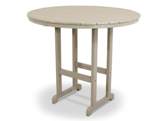 "POLYWOOD® Round 48"" Bar Table RBT248"