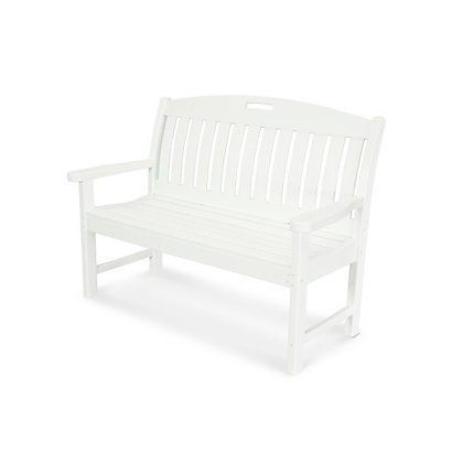 "In Stock POLYWOOD® Nautical 48"" Bench NB48 (SHIPPING UNAVAILABLE)"