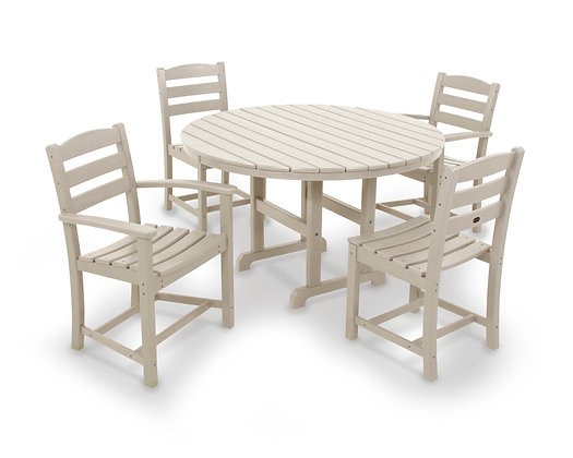 Quick Ship POLYWOOD®La Casa Cafe' 5-Piece Dining Set PWS171-1