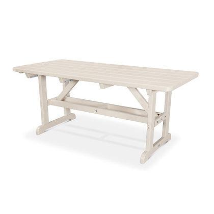 "POLYWOOD® Park 33""x72' Harvester Picnic Table PT3672"
