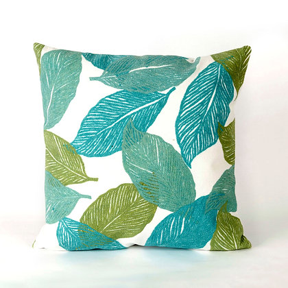 """Visions Leaf Indoor/Outdoor Pillow 20""""Square"""