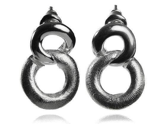 Small Bilbao Knot Earrings