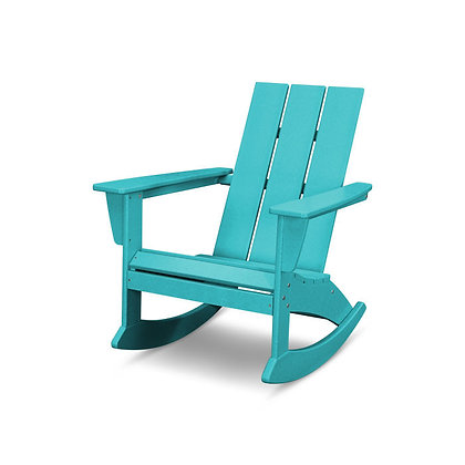 In Stock POLYWOOD® Modern Adirondack Rocking Chair ADR420 (SHIPPING UNAVAILABLE)