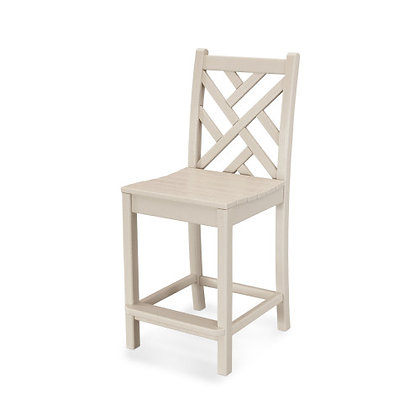 POLYWOOD® Chippendale Counter Side Chair CDD101