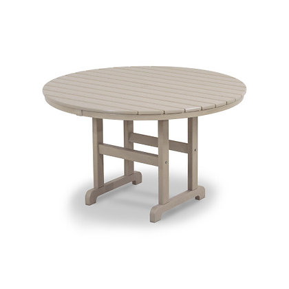 "Quick Ship POLYWOOD® Round 48"" Dining Table RT248"