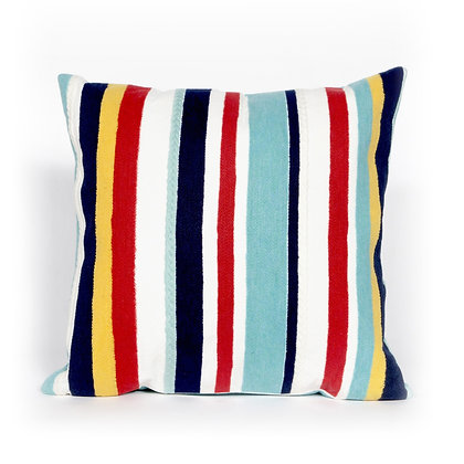 "Visions II Riviera Indoor/Outdoor Pillow 20""Square"