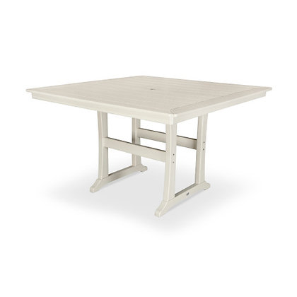 "POLYWOOD® Nautical Trestle 59"" Counter Table PLR85-T2L1"