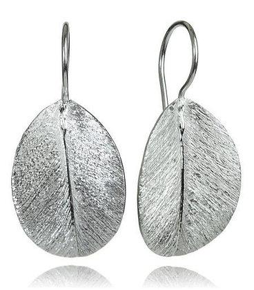 Brazil Nut Leaf Earring