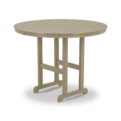 """POLYWOOD® Round 48"""" Counter Table RRT248"""