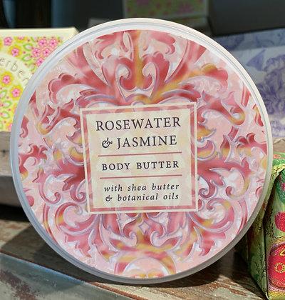 Rosewater & Jasmine Body Butter