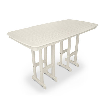 "POLYWOOD® Nautical 37""x72"" Bar Table NCBT3772"