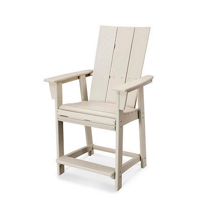 POLYWOOD® Modern Adirondack Counter Chair ADD621