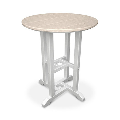 """POLYWOOD® Contempo 24"""" Round Dining Table RT224"""