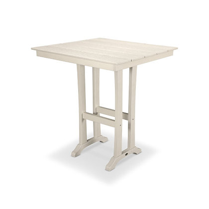 "POLYWOOD® Farmhouse 37"" Bar Table PLB81-T1L1"