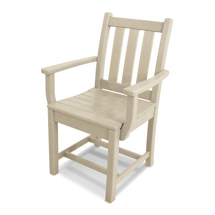 POLYWOOD® Traditional Garden Dining Arm Chair TGD200