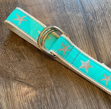 Double Ring Ribbon Belt