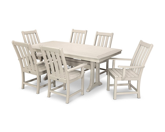 Quick Ship POLYWOOD®Vineyard 7-Piece Dining Set PWS407-1