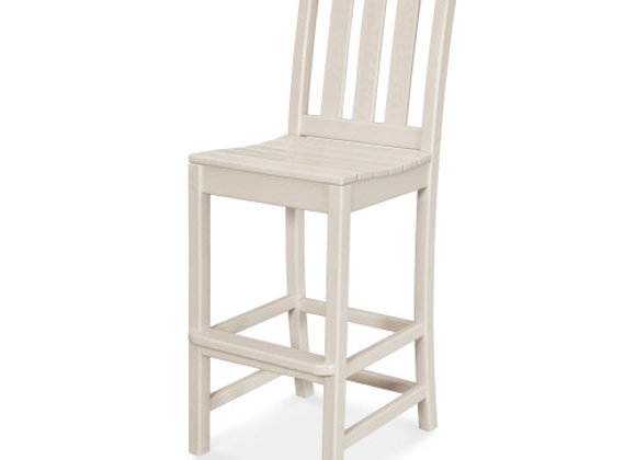 POLYWOOD® Traditional Garden Bar Side Chair TGD102