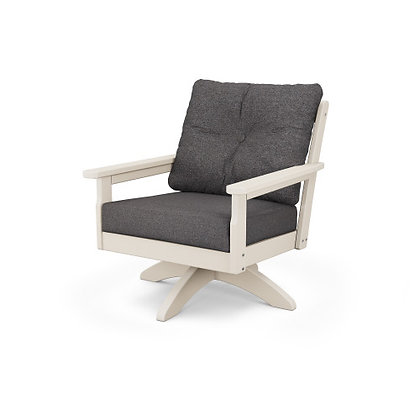 POLYWOOD® Vineyard Deep Seating Swivel Chair GNSV23