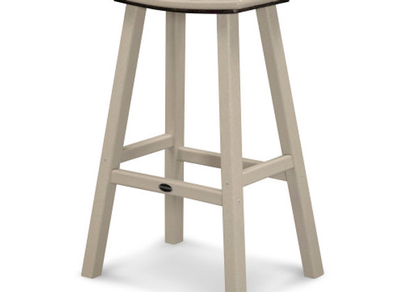 "POLYWOOD® Traditional 30"" Saddle Bar Stool 2002"