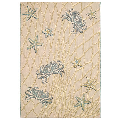 Portofino Crab Net Indoor/Outdoor Rug