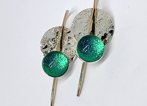 Michelle Earrings in Celestial Sea