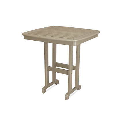 """In Stock POLYWOOD® Nautical 37"""" Counter Table NCRT37 (SHIPPING UNAVAILABLE)"""