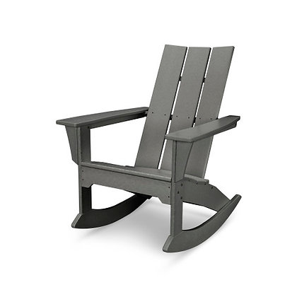In Stock POLYWOOD® Modern Adirondack Rocking Chair MNR10 (SHIPPING UNAVAILABLE)
