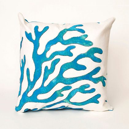 """Visions Coral Indoor/Outdoor Pillow 20""""Square"""