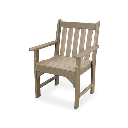 In Stock POLYWOOD® Vineyard Garden Arm Chair GNB24 (SHIPPING UNAVAILABLE)