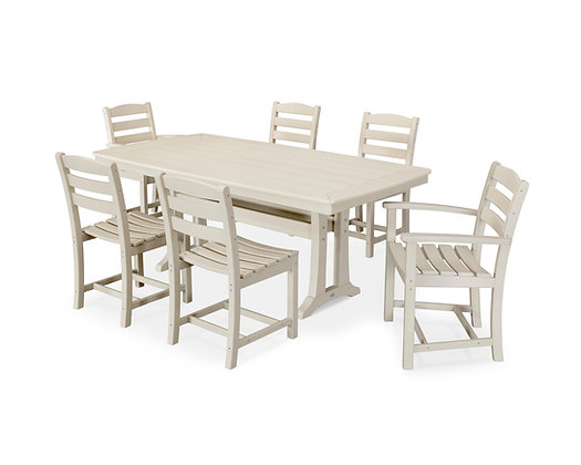 Quick Ship POLYWOOD®7 Piece La Casa Dining Set PWS298-1