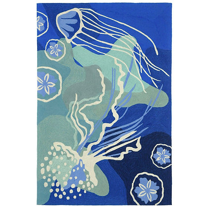 Jellyfish Indoor/Outdoor Rug
