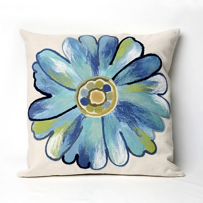 """Visions II Daisy Indoor/Outdoor Pillow 20""""Square"""