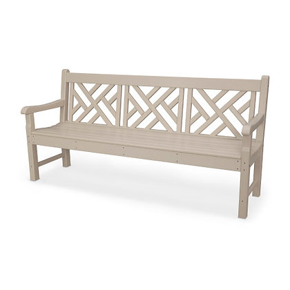 """POLYWOOD® Rockford Chippendale 72"""" Bench RKCB72"""