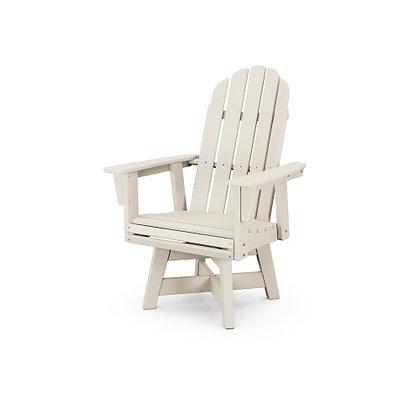 POLYWOOD® Vineyard Adirondack Swivel Dining Chair ADDSV600