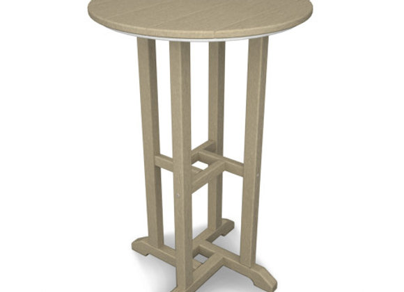 """POLYWOOD® Traditional 24"""" Round Counter Table RRT124"""