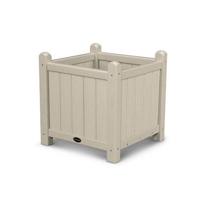 """In Stock POLYWOOD® Traditional Garden 16"""" Planter GP16 (SHIPPING UNAVAILABLE)"""