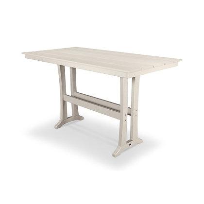 "POLYWOOD® Farmhouse 37""x 72"" Bar Table PLB83-T1L1"
