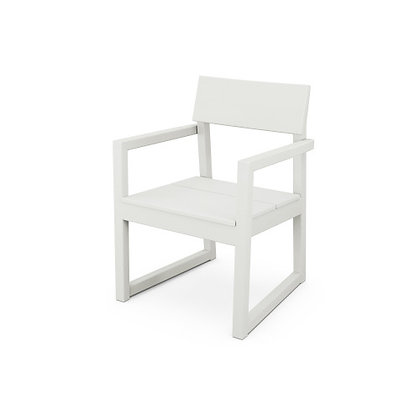 Quick Ship POLYWOOD® Edge Dining Arm Chair EMD200