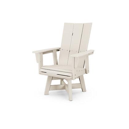 POLYWOOD® Modern Adirondack Swivel Dining Chair ADDSV620
