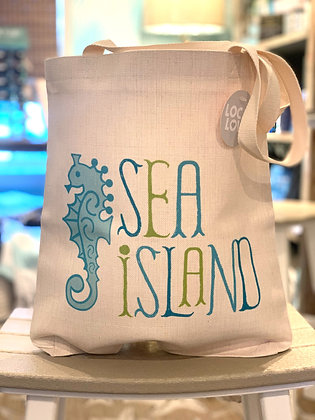 Sea Island Linen Tote
