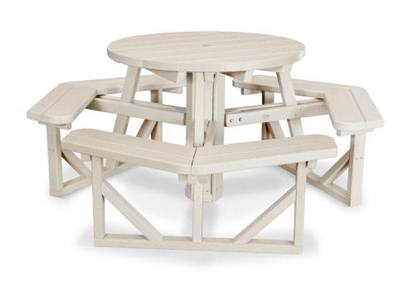 "POLYWOOD® Park 36"" Round Picnic Table PH36"