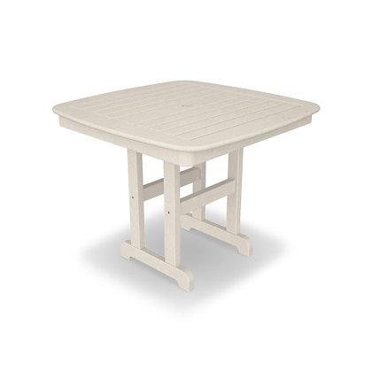 "POLYWOOD® Nautical 37"" Dining Table NCT37"