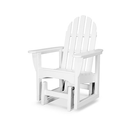 In Stock POLYWOOD® Classic Adirondack Glider Chair ADSGL-1