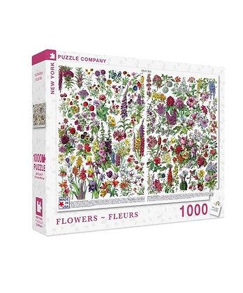 Flowers 1000pc