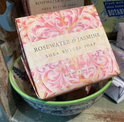 Rosewater & Jasmine Spa Soap