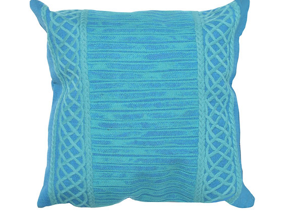 """Visions II Celtic Indoor/Outdoor Pillow 20""""Square"""