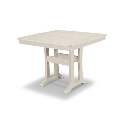 "POLYWOOD® Nautical Trestle 37"" Dining Table PL81-T2L1"