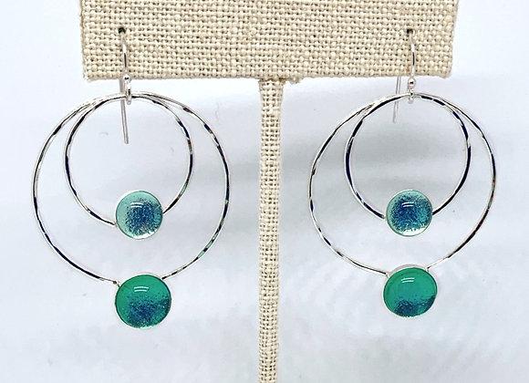 Pauline Earrings in Celestial Sea/Seaspray