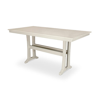 "POLYWOOD® Farmhouse 37""x72"" Counter Table PLR83-T1L1"